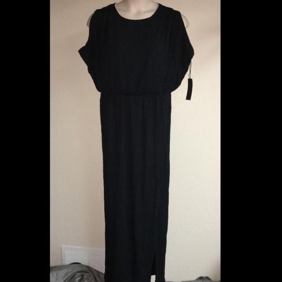 a117dbcca66 MYNT 1792 Dress Black White Plus Size 14W Womens